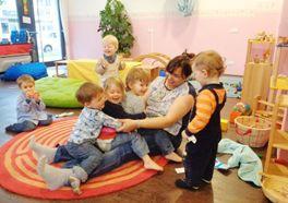 Liebevolle Betreuung in der Kinderstube