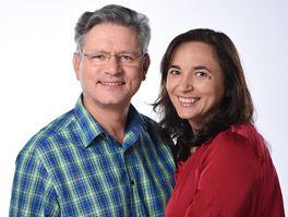 Das Ehepaar Daniela und Michael Salzmann