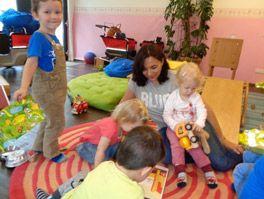 Gemeinsames Spielen fördert die Sozialkompetenz
